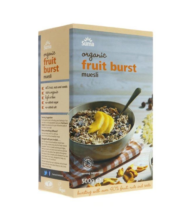Suma Suma Organic Fruit Burst Muesli 500g