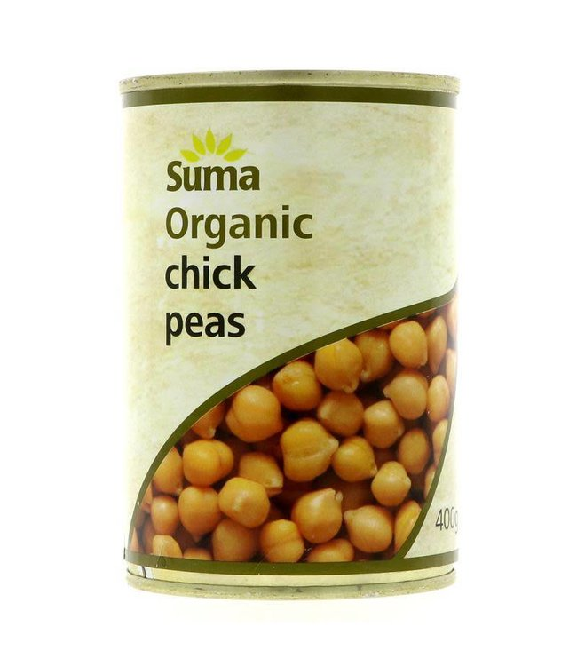 Suma Suma Chick Peas Organic 400g
