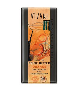 Vivani Vivani ORG Orange Dark Choc 100g