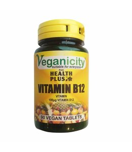 Veganicity Veganicity Vitamin B12 100ug 90 tablets