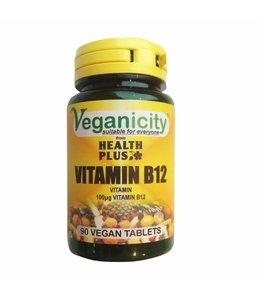 Veganicity Veganicity Vitamin B12 100ug General Well-Being Supplement