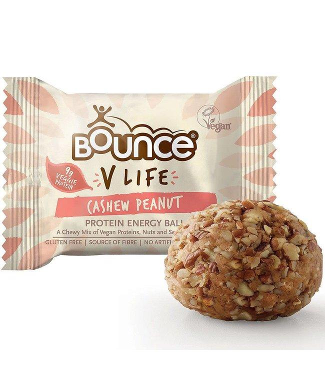 Bounce Bounce V Life Vegan Cashew Peanut Protein Ball 40g
