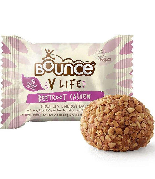 Bounce Bounce V Life Beet Cashew Protein Ball 40g