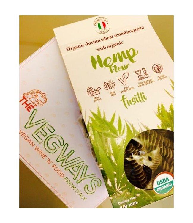 Enriched Durum Wheat Pasta w/Hemp