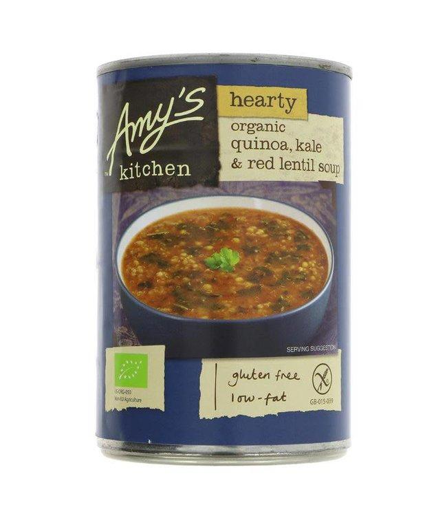 Amys Amys Quinoa Kale Red Lentil Soup - 408g