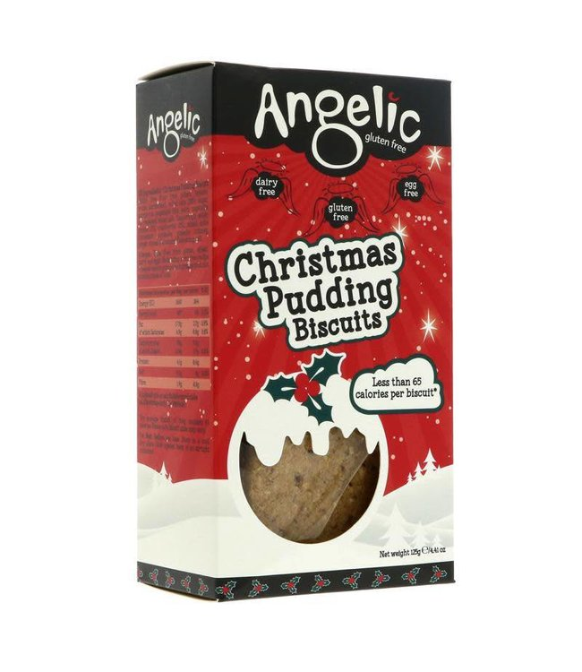Angelic Gluten Free Angelic Christmas Pudding Biscuits 125g