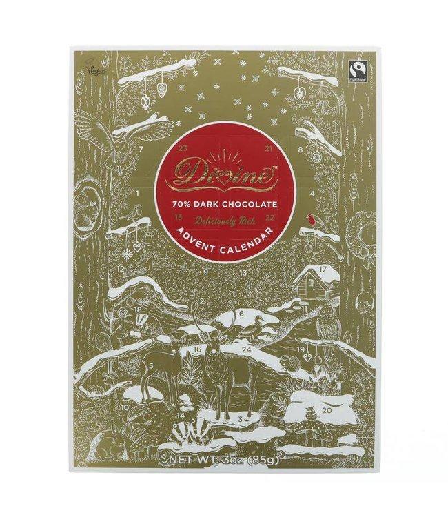 Divine dark advent calendar
