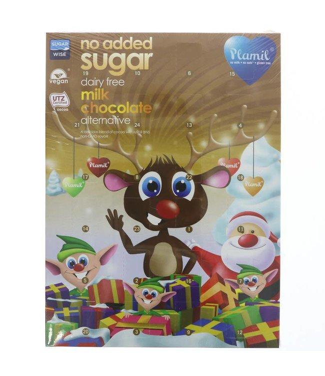 Plamil Plamil sugar free chocolate calendar 110g