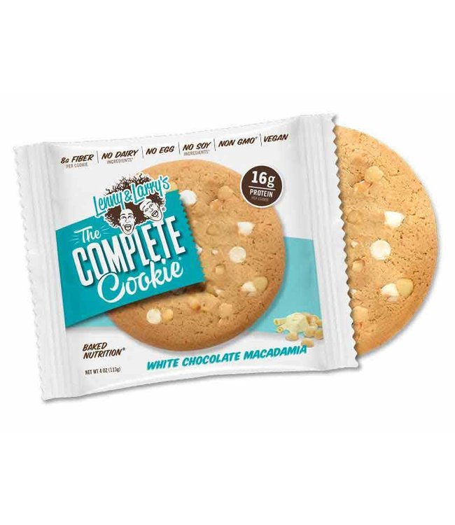 Lenny & Larrys Complete Cookie - White Chocolate Macadamia