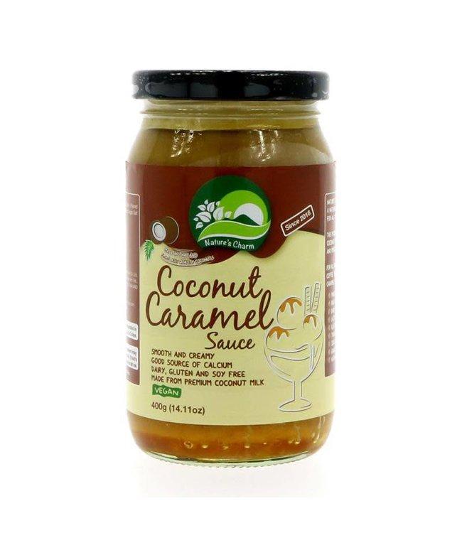 Nature's Charm Coconut Caramel Sauce - 400g