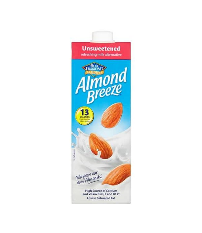 Blue Diamond Almond Breeze Unsweetened 1l