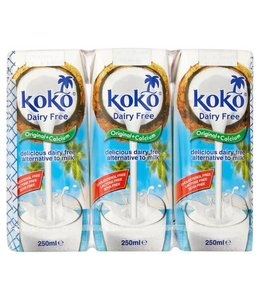 Koko Dairy Free Original Plus Calcium  3x250ml