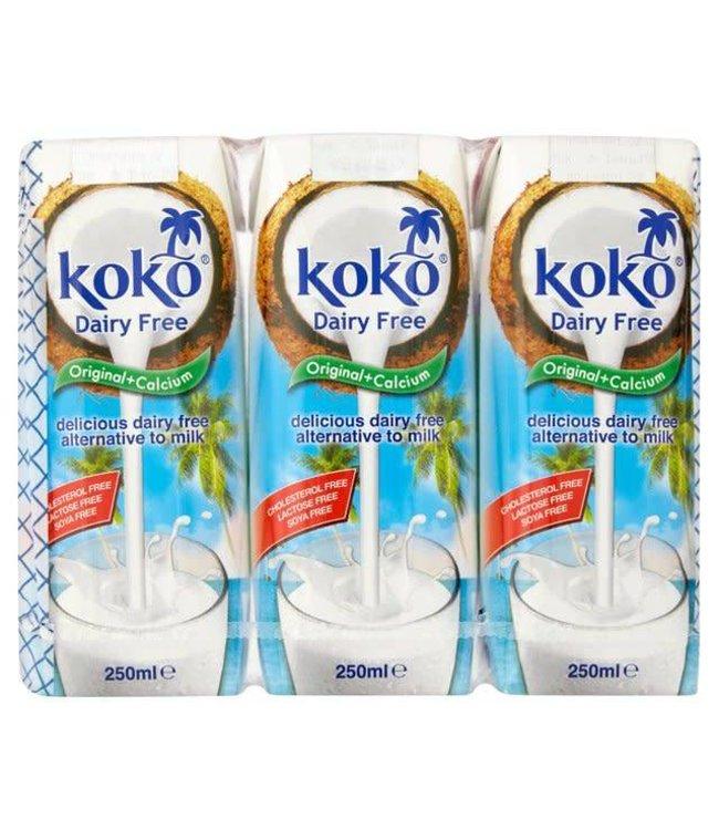 Koko Dairy Free Original Plus Calcium 3x250ml