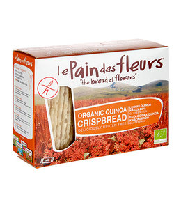 Le Pain Des Fleurs Organic Quinoa Crispbread 125g