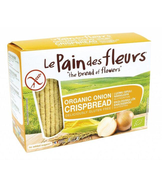 Le Pain Des Fleurs Organic Onion Crispbread Gluten Free 125g