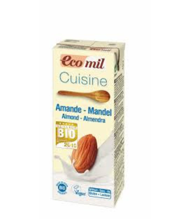 Ecomil Ecomil Almond Cooking Cream 200ml