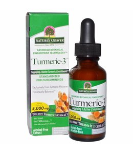 Nature's Answer  Inc Nature's Answer Turmeric-3 (30 ml) 5000 mg