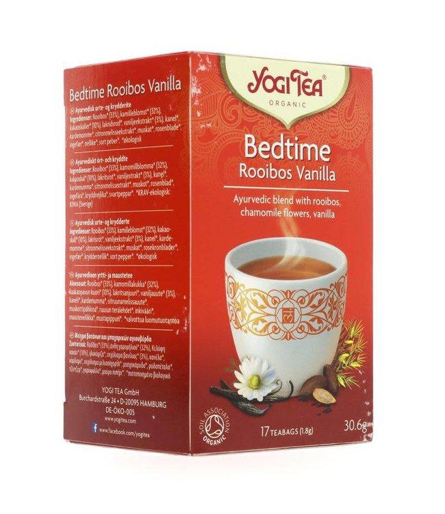 Yogi Teas Yogi Tea Bedtime Rooibos Vanilla 17 bags