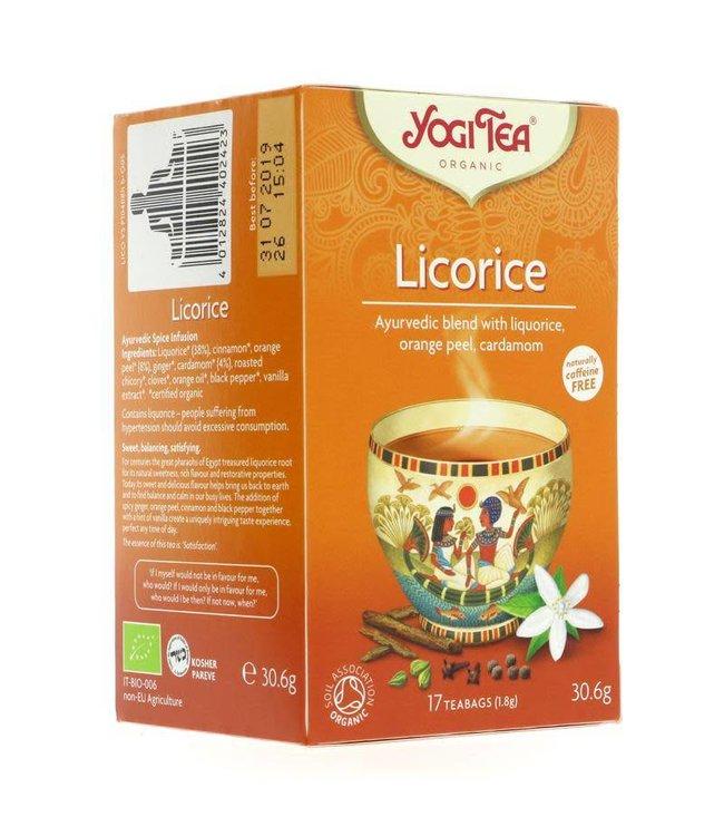 Yogi Teas Yogi Tea Licorice 17 bags