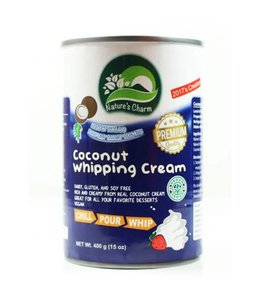 Nature's Charm Coconut Whipping Cream 400g