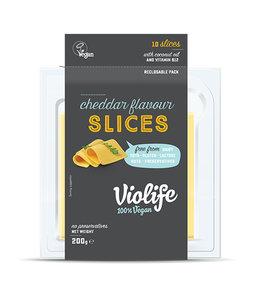 Violife Violife Coconut Cheese Slices Cheddar 200g