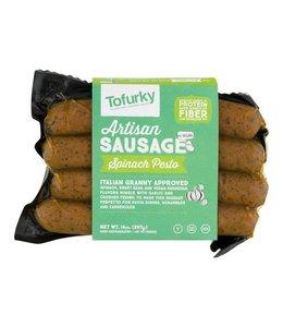 Tofurky Tofurky Spinach Pesto Style Sausages 250g