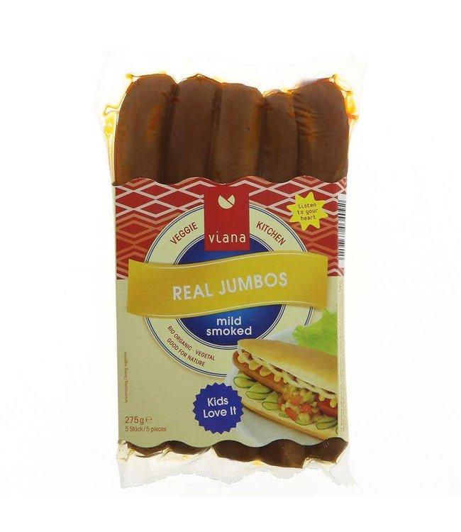 Viana Viana Real Jumbo Sausages 275g