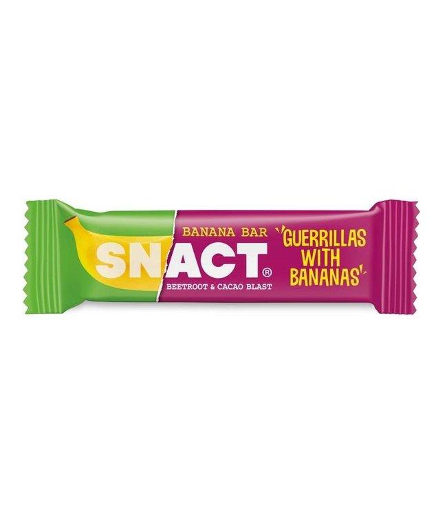 Snact Snact Beetroot & Cacao Banana Bar 35g