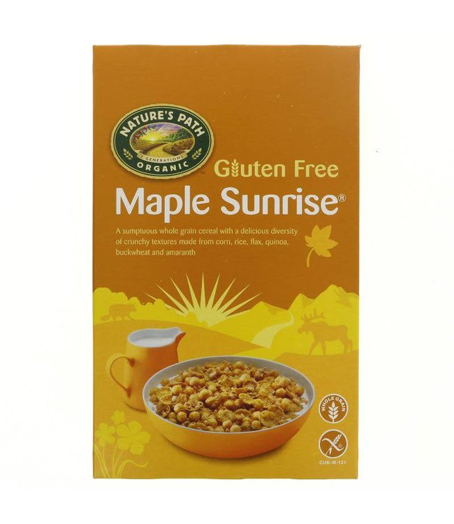 Natures Path Natures Path Organic Maple Sunrise Cereal 332g