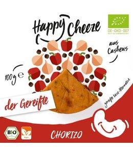 Happy Cheeze Happy Cheeze ORG Chorizo Matured Cheeze 100g