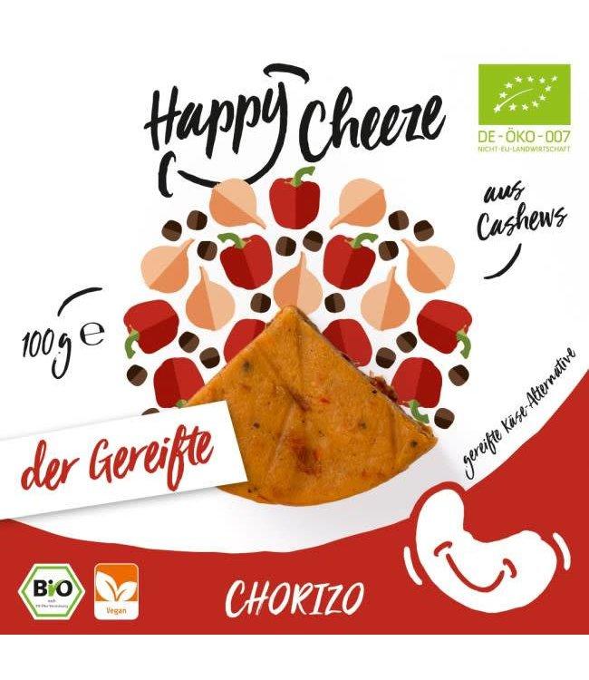 Happy Cheeze Happy Cheeze Chorizo Matured Cheeze 100g
