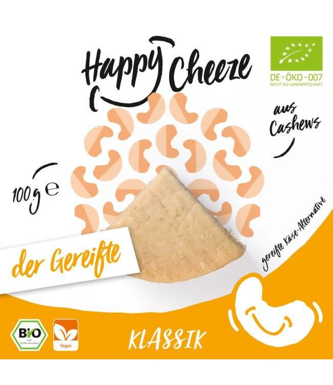 Happy Cheeze Happy Cheeze ORG Classic Matured Cheeze 100g
