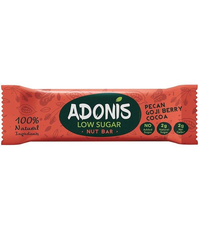Adonis Adonis Pecan Goji Berry Cocoa Bar 35g