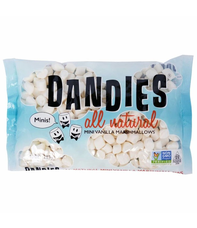 Dandies Dandies All Natural Mini Vanilla Marshmallows 283g