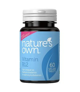 Natures Own Vitamin B12 60 Tabs