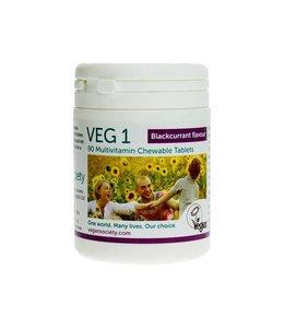 VEG1 Vegan Society VEG1 Blackcurrant 90 tablets