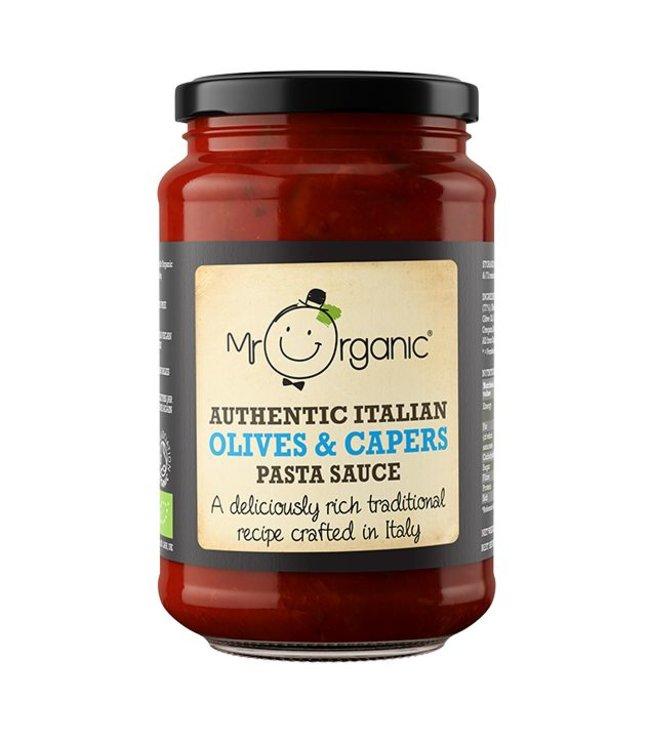 Mr Organic Mr ORG Authentic Italian Capers&Olives Pasta Sauce 350g