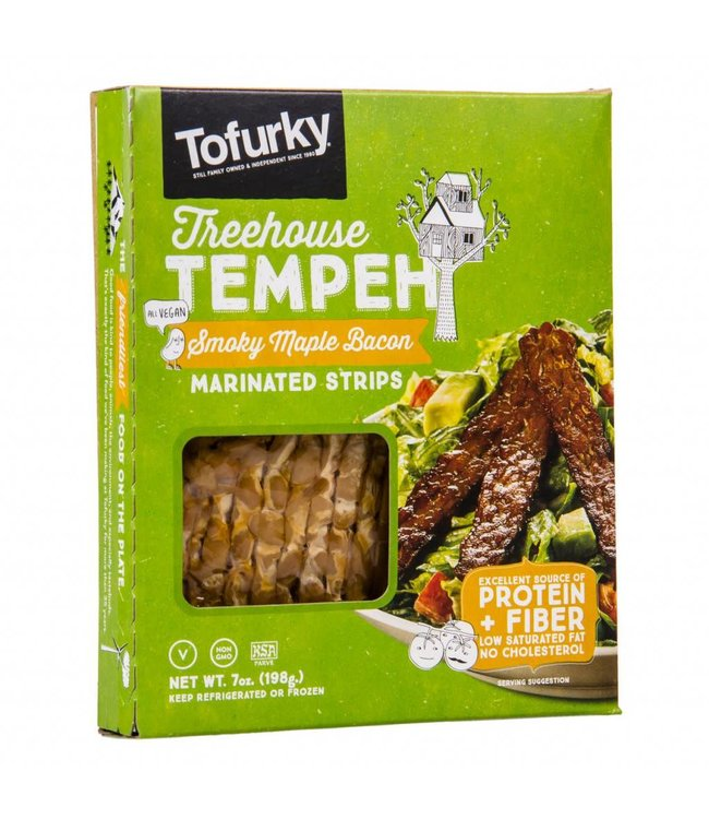Tofurky Tofurky Smoky Maple Bacon Style Tempeh 198g