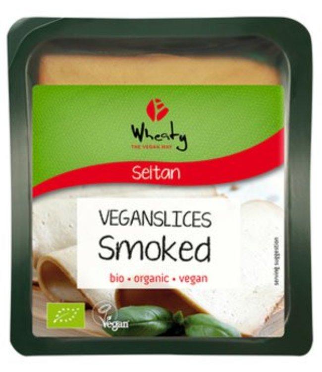 Topas Wheaty ORG Smoked Slices 100g