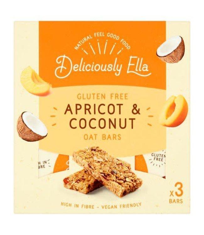 Deliciously Ella Delic. Ella MULTIPACK Apricot & Coconut Oat Bars 50g