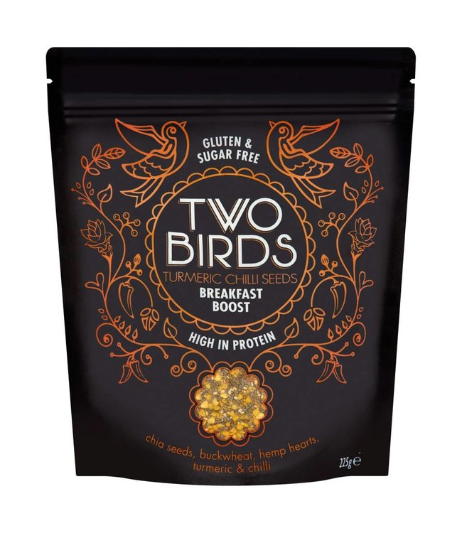 Two Birds Two Birds Turmeric Chilli Seeds Breakfast Boost 225g