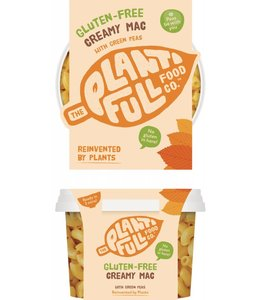 Plantifull Food Co - Vegan Ready Meals Plantifull Gluten Free Creamy Mac  330g