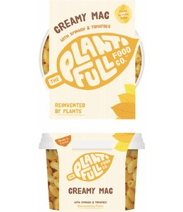 Plantifull Food Co - Vegan Ready Meals Plantifull Creamy Mac 330g