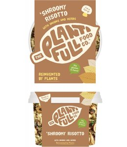 Plantifull Food Co - Vegan Ready Meals Plantifull Shroomy Risotto 330g