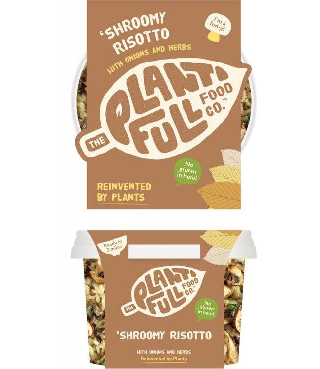 Plantifull Food Co - Vegan Ready Meals Plantifull Shroomy Risotto 330g