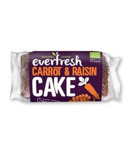 Everfresh Natural Foods Organic Carrot Cake With Raisins 400g
