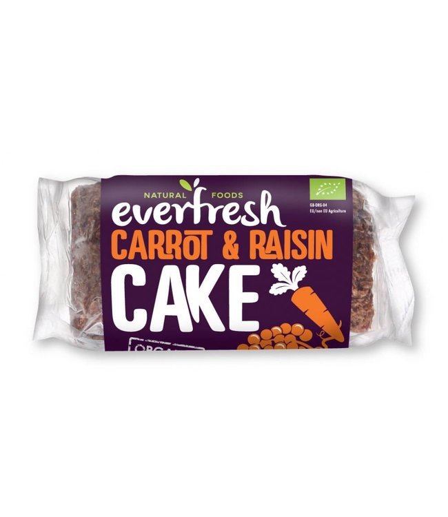 Everfresh Natural Foods Everfresh Carrot Cake With Raisins 400g