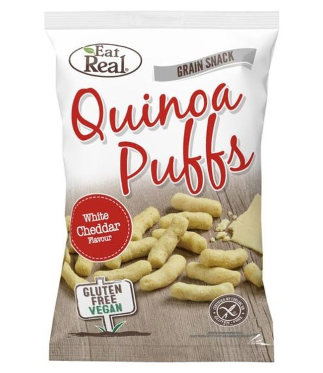 Eat Real Eat Real Quinoa Puffs Cheese 113g