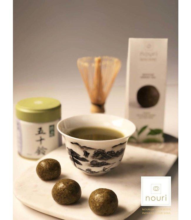 Nouri Nouri Matcha Green Tea Vegan Truffles 30g