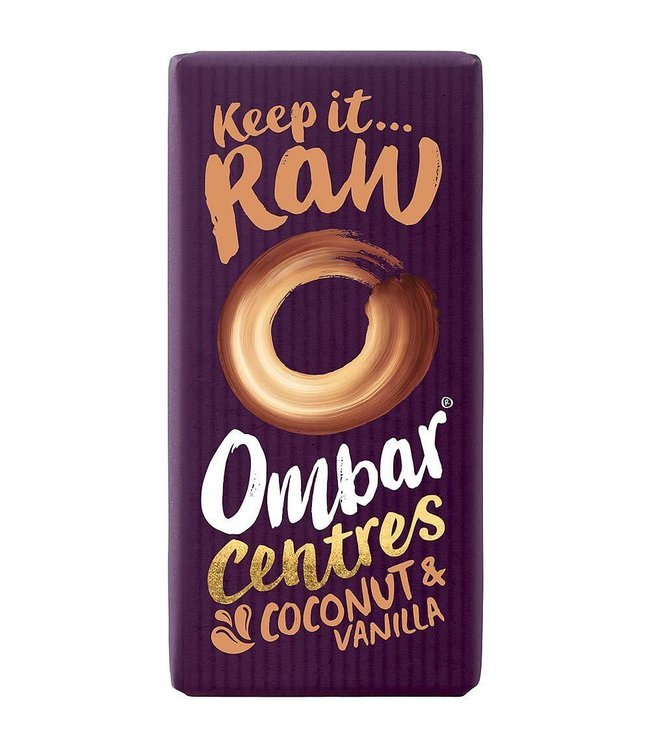 Ombar Ombar Coconut & Vanilla Centre 35g